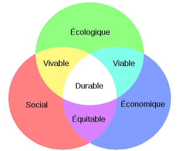 Équilibre entre Écologie, Économie et Social